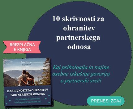 Brezplačna knjiga - 10 skrivnosti za ohranitev partnerskega odnosa